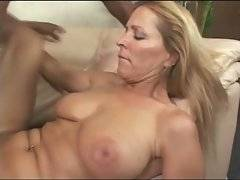 Horny black fallow cockattacks sluty milf until sprays cum on her cute face.