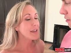 Brandi Love offers Seth not to get upset about the scene he sees but to join in.